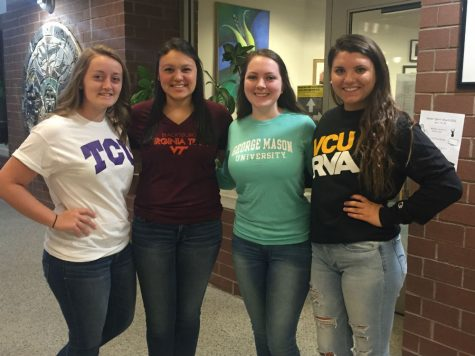 Senior Spirit Week: College Day