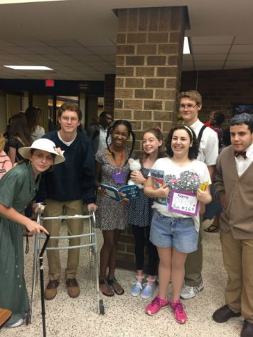 Senior Spirit Week: Kindergarten vs. Senior Citizen