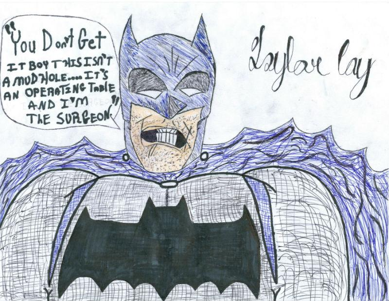 Taylor+Coy+drew+this+piece%2C+titled+Batman%3A+Incorporated.+He+says%2C++%22The+inspiration+that+helped+me+draw+this+first+in+pencil+then+in+pen+drew+from+Frank+Miller%27s+classic+graphic+novel+%27The+Dark+Knight+Returns%27.%22