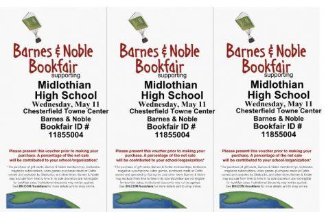 English Department Barnes & Noble Book Fair