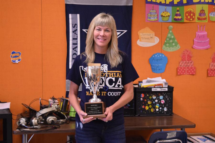 June Teachers Recognizing Teachers  recipient: Mrs. Debi Green