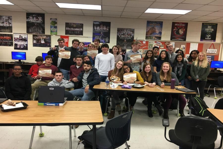 All 32 students of Honors Accounting hold memberships in FBLA.