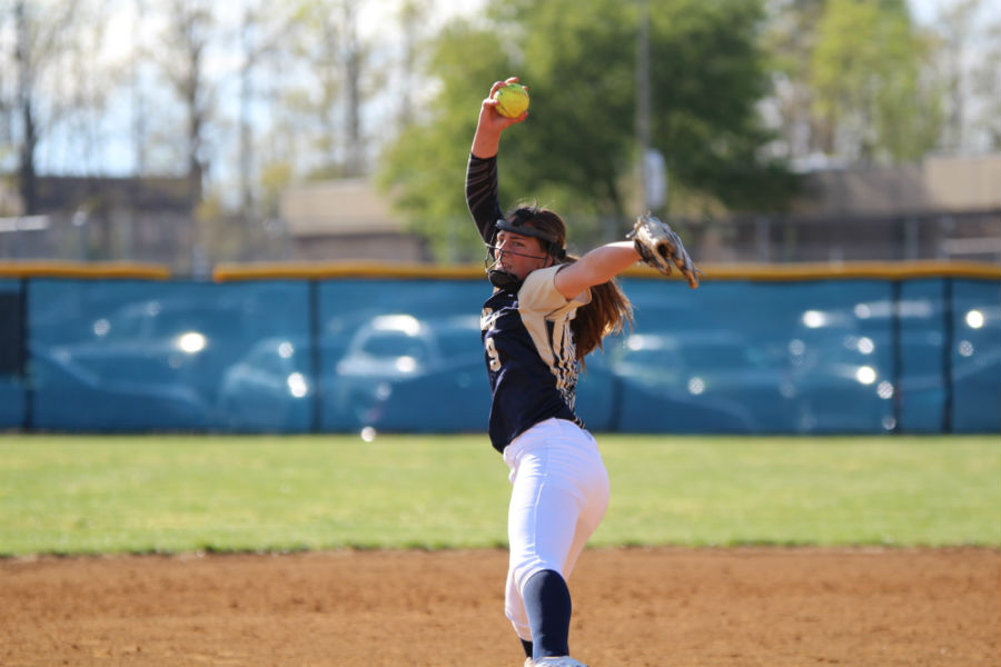 Abby White resumes her role as starting pitcher for the Lady Trojans.