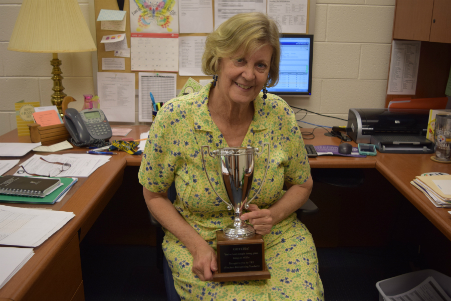Ms. Cheryl Boyd: April TRT Recipient