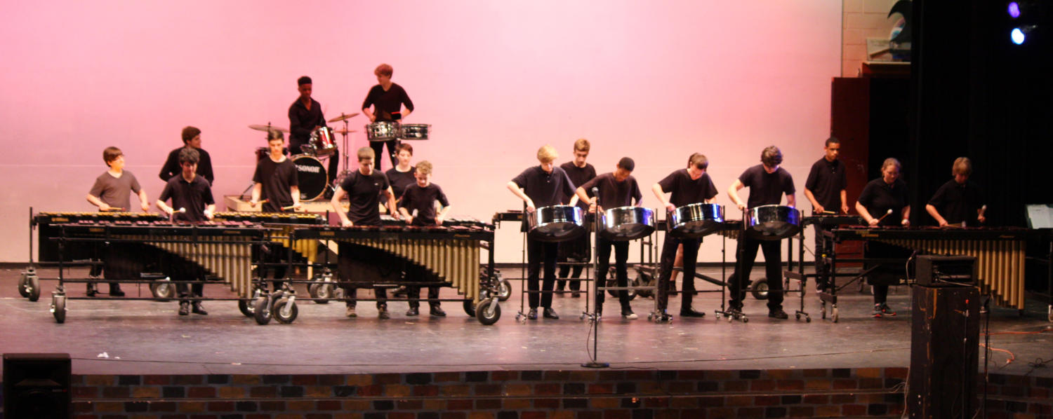 Jazz and Percussion Concert  on Tuesday, May 16
