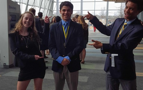 Joshua Pace qualifies for DECA nationals.