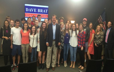 Congressman Dave Brat took 1 hour out of his busy schedule to speak to Midlothian government students.