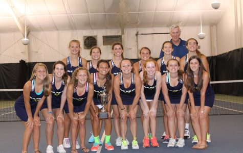 The Midlo girls tennis team won state championships last year and hopes to achieve the same feat this year as well.
