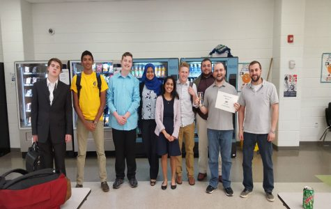 MHS Debate regional competitors poised and satisfied after making it through VHSL regions.