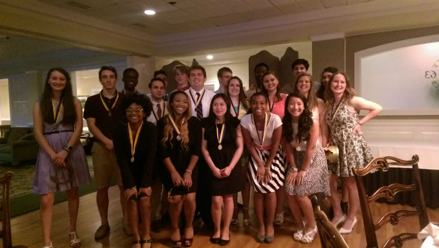 The IB Class of 2016  received their medals at the IB Banquet, signifying their commendable performance throughout high school.