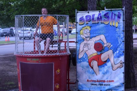 Thrown in the Dunk Tank for a Good Cause