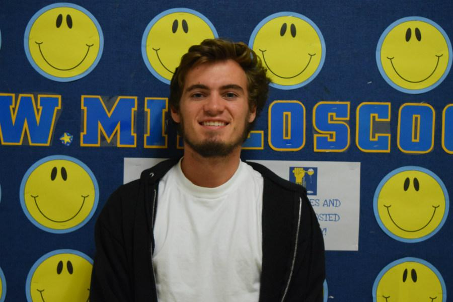 Connor Rea wins student of the month