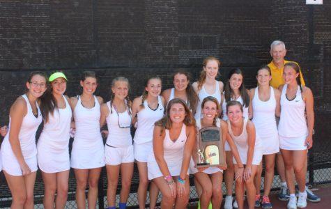 Midlo Girls Tennis Three-peat State Champs!