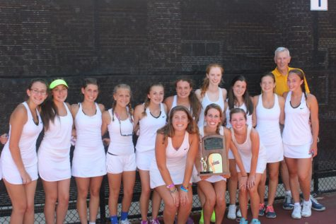 Midlo Girls Tennis Three-peat State Champs!
