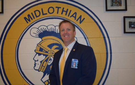 Shawn Abel, Midlothian High School's Principal