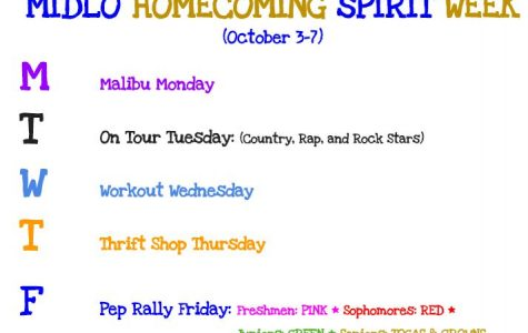 Midlothian Homecoming Spirit Week