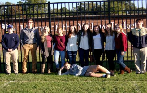 Madame Garrison's French 4 students visit Randolph-Macon College to explore Study Abroad options.