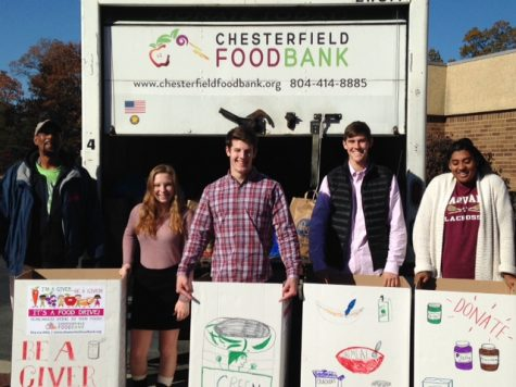 Senior Class Feeds the Hungry