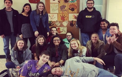 Happy Thanksgiving from Mrs. Hill's senior Dual Enrollment English class!