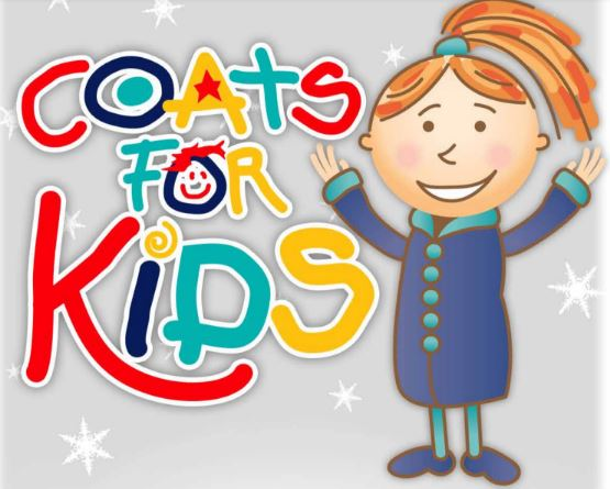 Bring coats to room 116 for the Puritan Cleaners Coats for Kids Drive.
