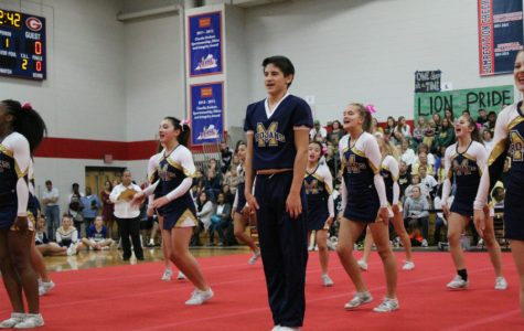Midlothian Cheerleader Leaves His Mark