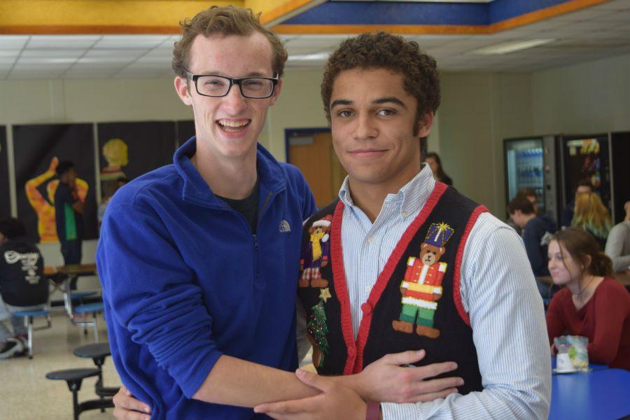 Thomas Jackson and Ivan Jackson celebrate their holiday traditions.