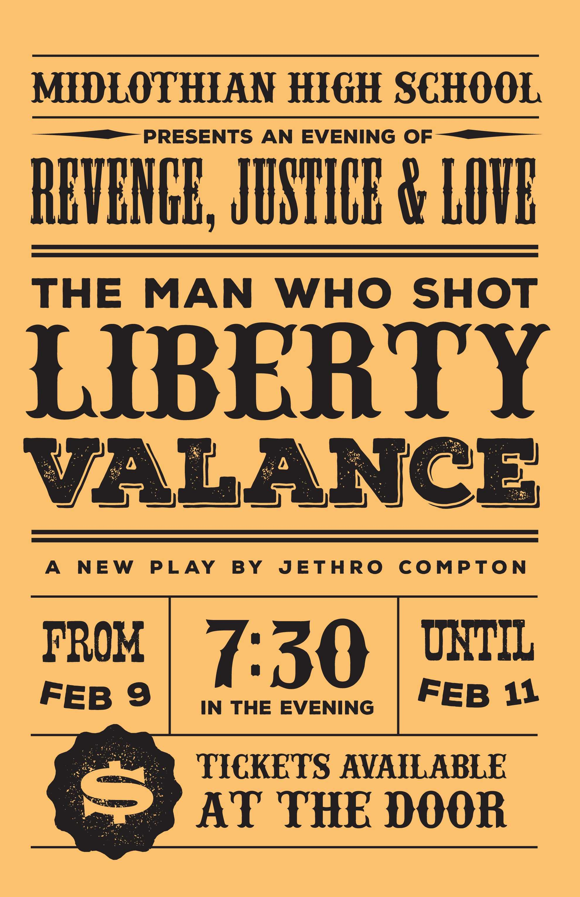 The Man Who Shot Liberty Valance: February 9-11, Midlo Theatre