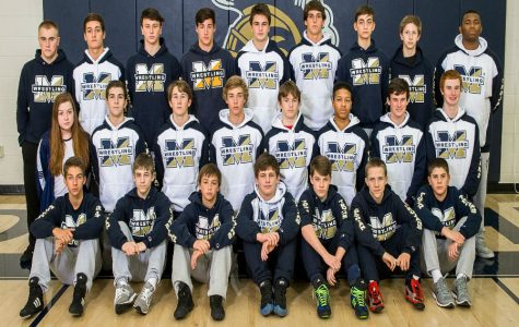 The 2016-2017 Midlothian High School Wrestling team.