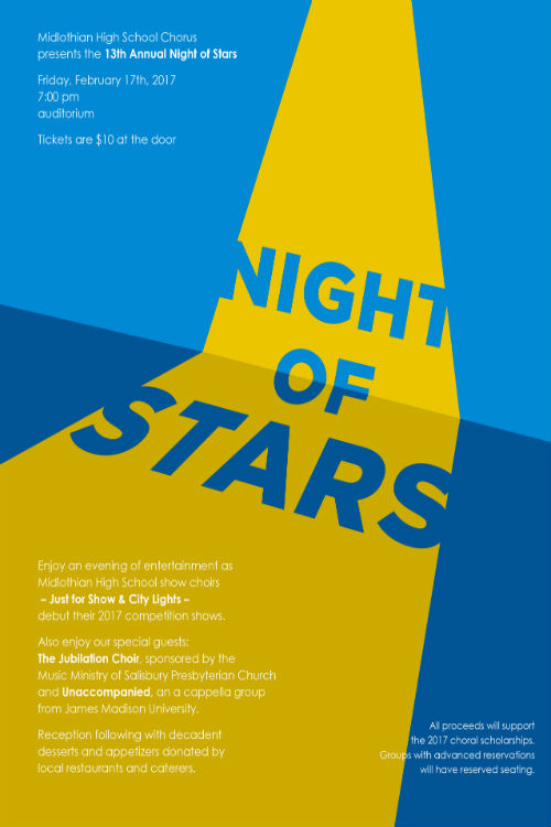 Come join Midlo Chorus for Night of Stars.