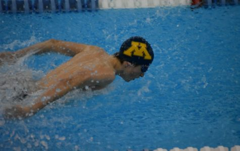 Alexi Gentz glides well in the butterfly category.