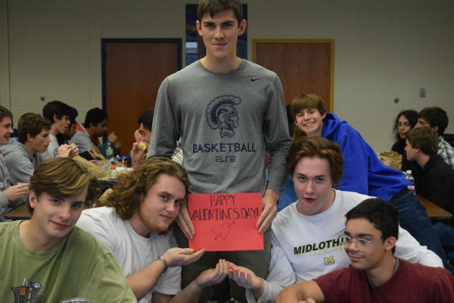 Michael South, Brayden Gordy, Sam Maguire, Coleman Rock, and Kael Rision get excited for Valentine's Day!