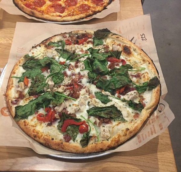 Blaze Pizza Build Your Own Custom Pizza