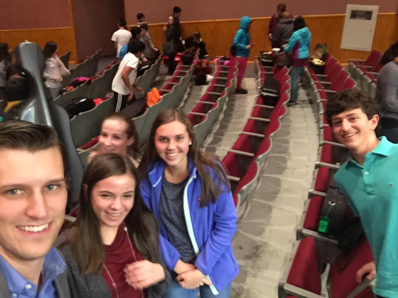 Liza Hopper, Rylee Gregory, Rachel Damico, and Jacob Cantor were selected to attend Central Regional Orchestra.