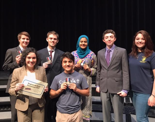 Midlothian High School Forensics Speech Team State qualifiers and alternates move on to VHSL 4A States.