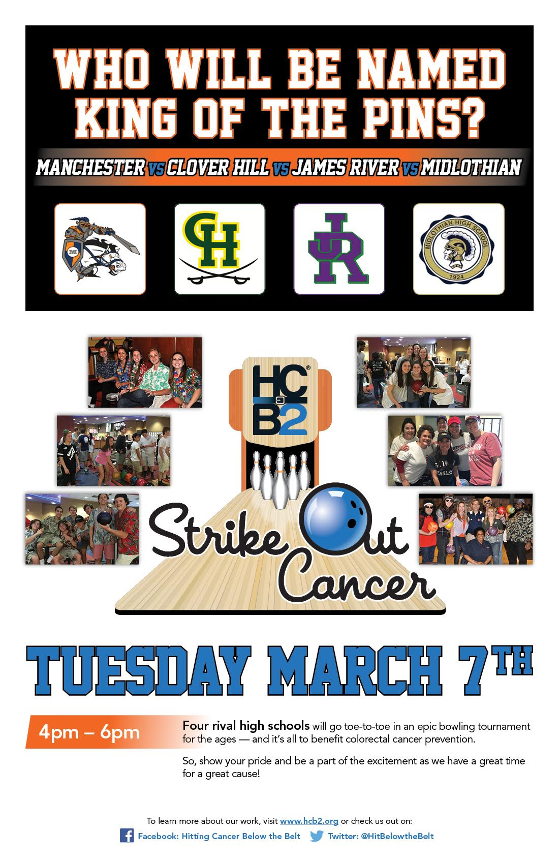 Strike Out Cancer: Tuesday, March 7