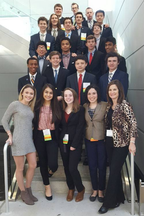 DECA State Leadership Conference 2017