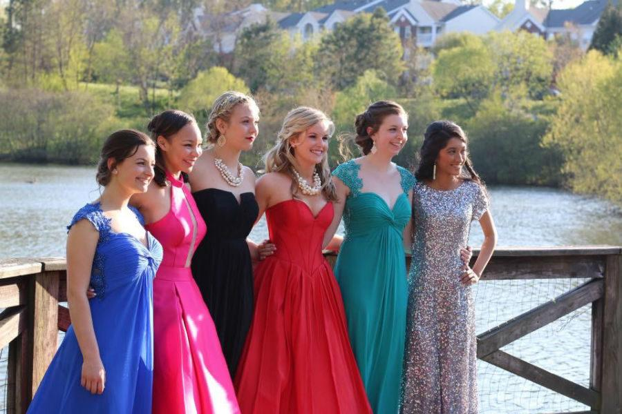 DO wear dresses without plunging necklines to prom.
