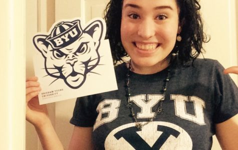 Bethany Crisp celebrates her admission into Brigham Young University- Provo and joins the BYU Cougar Class of '21.