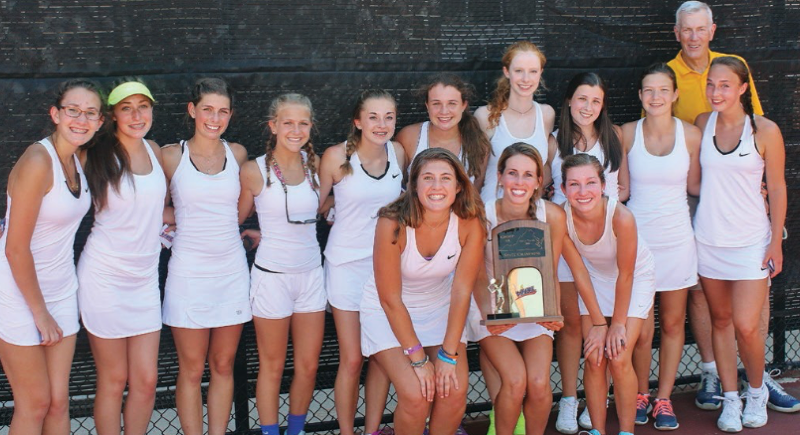The+2015-2016+Girls+Tennis+Team+at+the+State+Competition+