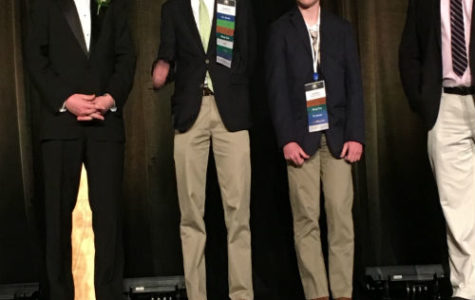 Thomas Jackson and Logan Shipa both receive second place awards, qualifying for FBLA Nationals.