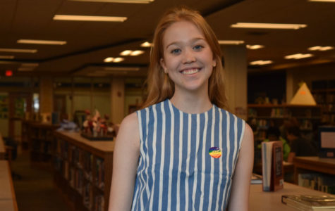 Midlo senior Carly Roberts will work with the Richmond Young Writers this summer under a summer internship.