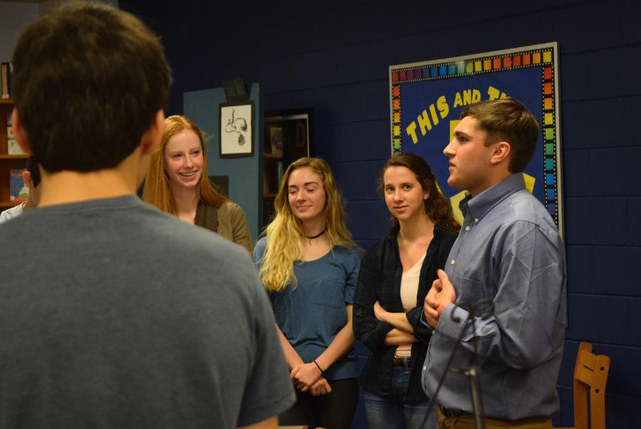 Owen+Beleza+presents+his+Oceanography+project+on+Atlanta++to+students.