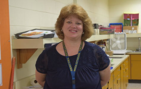 Mrs. Nancy Lee, physics and biology teacher, retires this year after teaching 32 years in education, 14  at Midlothian High.