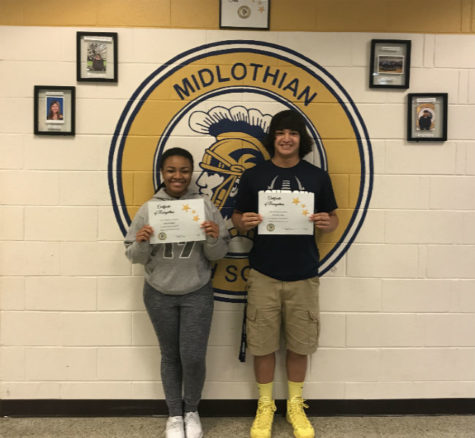 Congrats! May Students of the Month