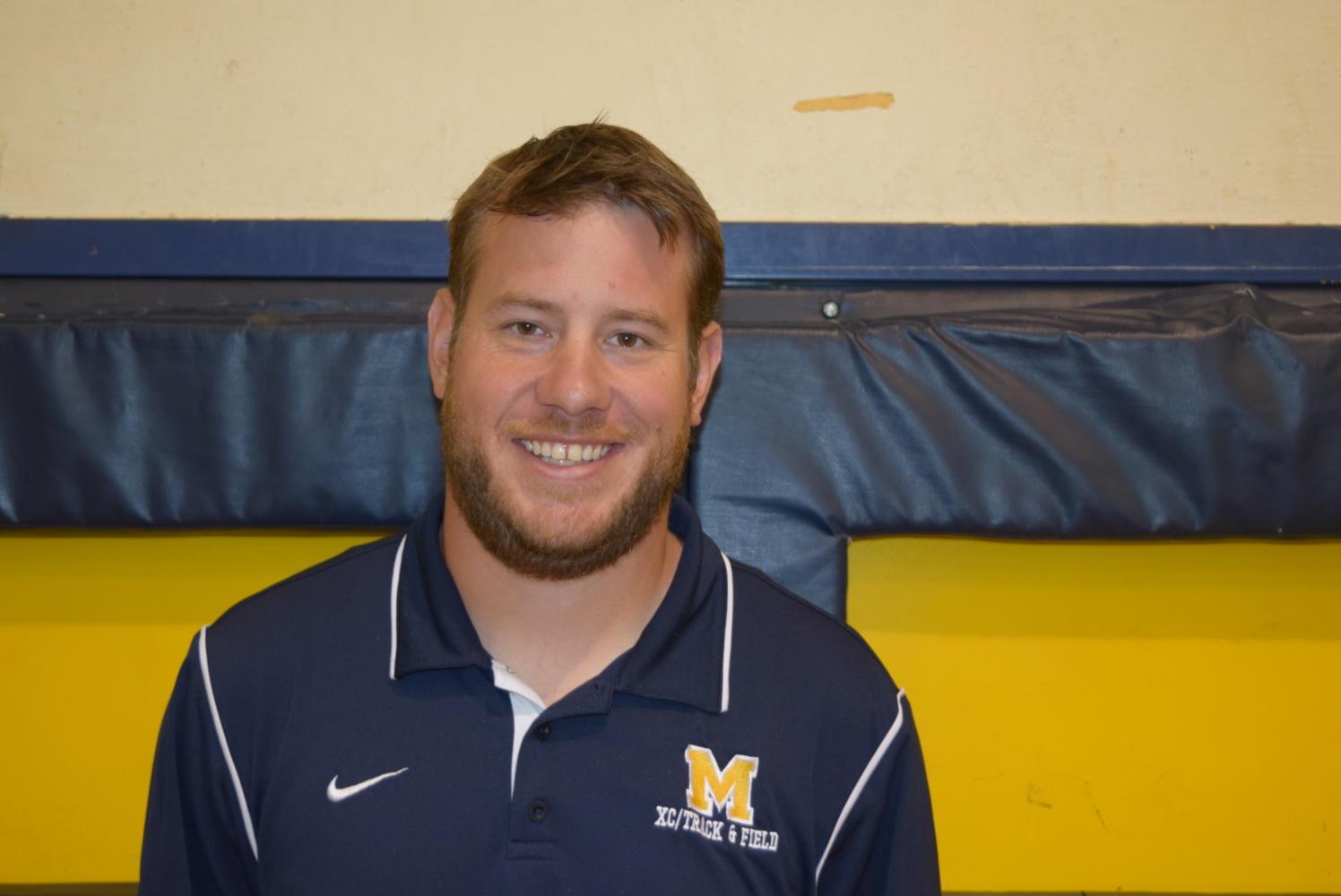 Head Football Coach Matt Hutchings takes the reigns during the 2017 season.
