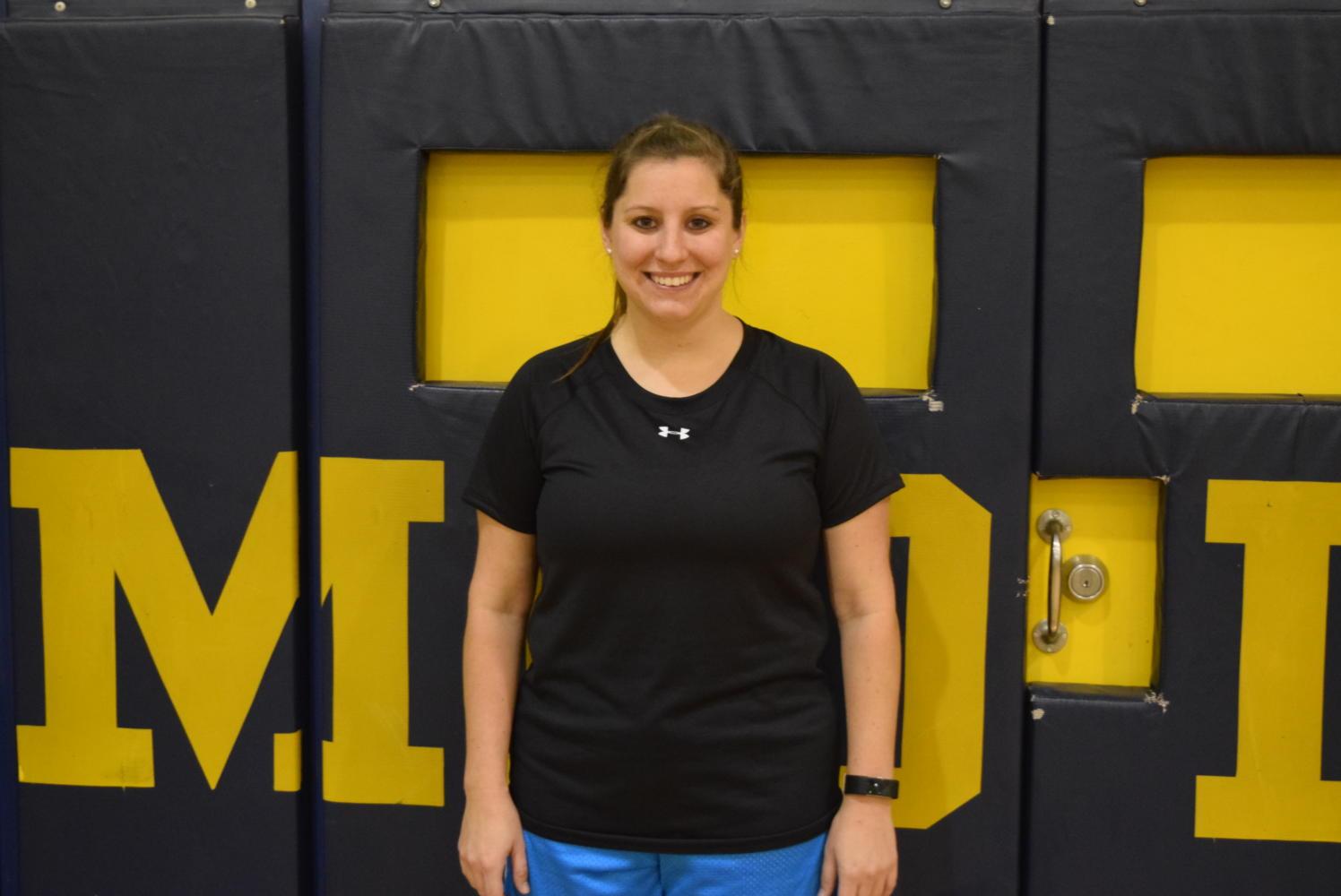 Mrs. Santmyer: New Health/P.E. Teacher