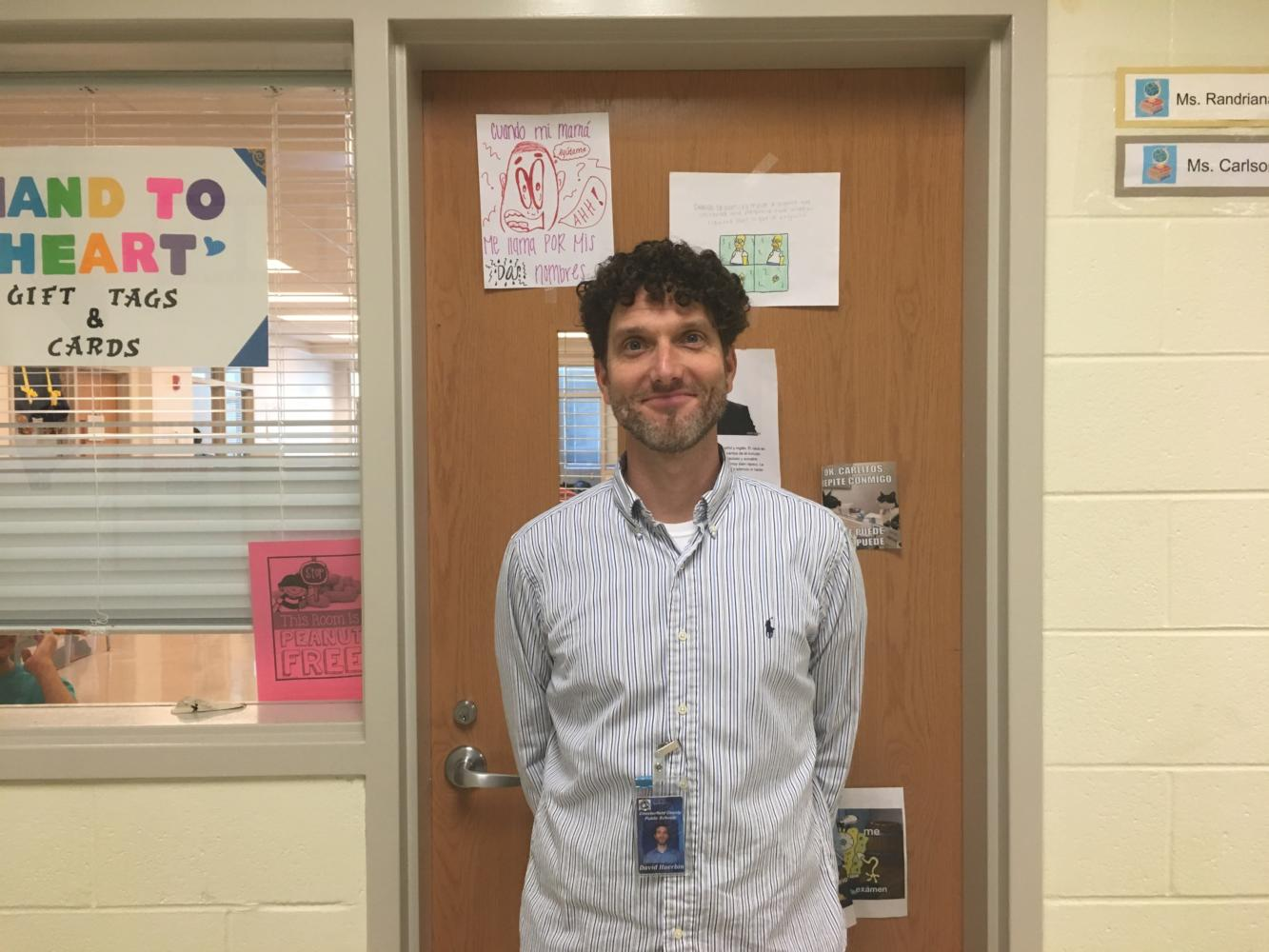 Mr. David Huerbin: New IA Autism Teacher