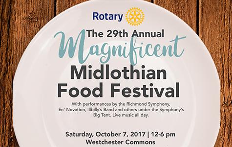 Midlothian Food Festival Flyer