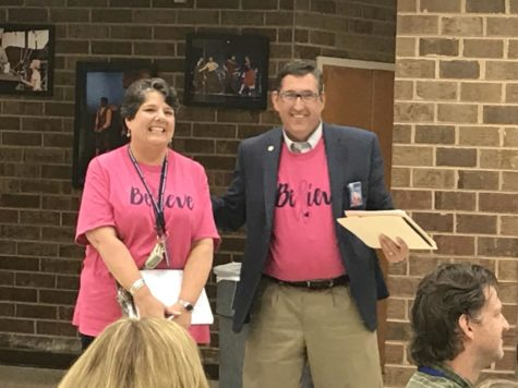 Mrs. Gouyer Recognized for Significant Contributions
