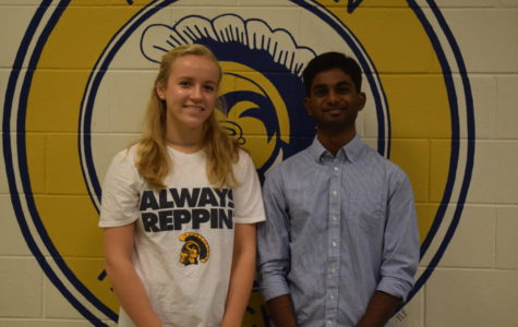 October Students of the Month: Margaret Weinhold and Sai Poluri